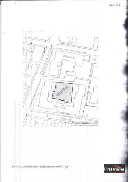 Teren intravilan 790 mp zona LIDL centru