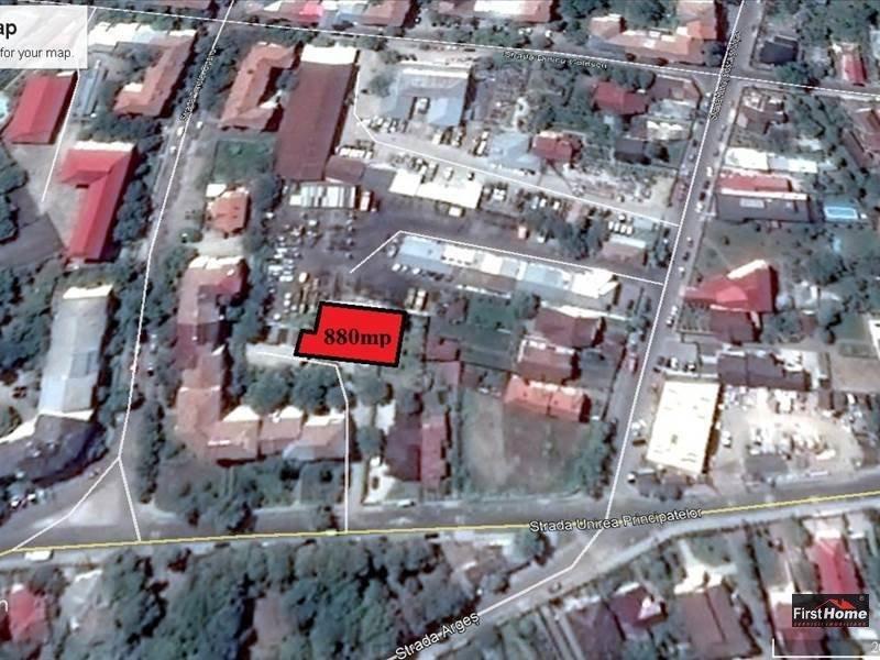 Teren intravilan 880 mp zona LIDL, centru
