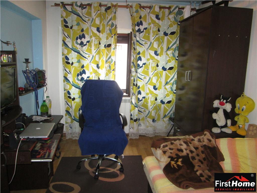 3 camere, etaj 5/8, zona Kaufland  Mc'Donalds, 80mp