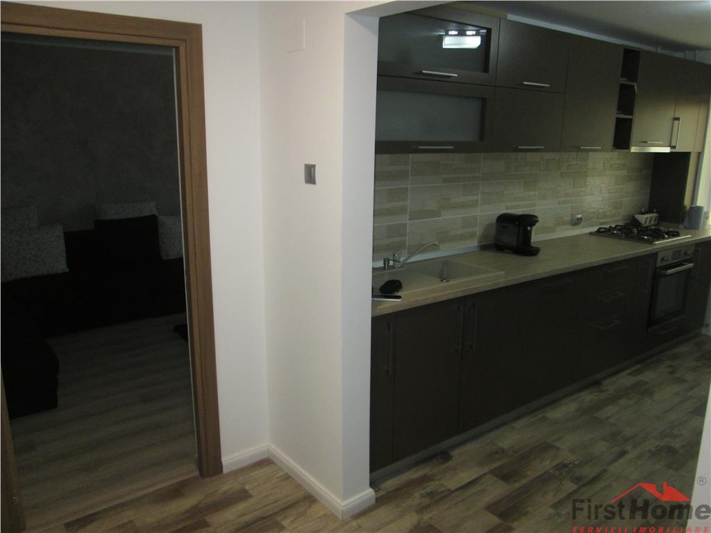 Apartament 3 camere, complet renovat si mobilat, et 2/4,Spitalul Mare