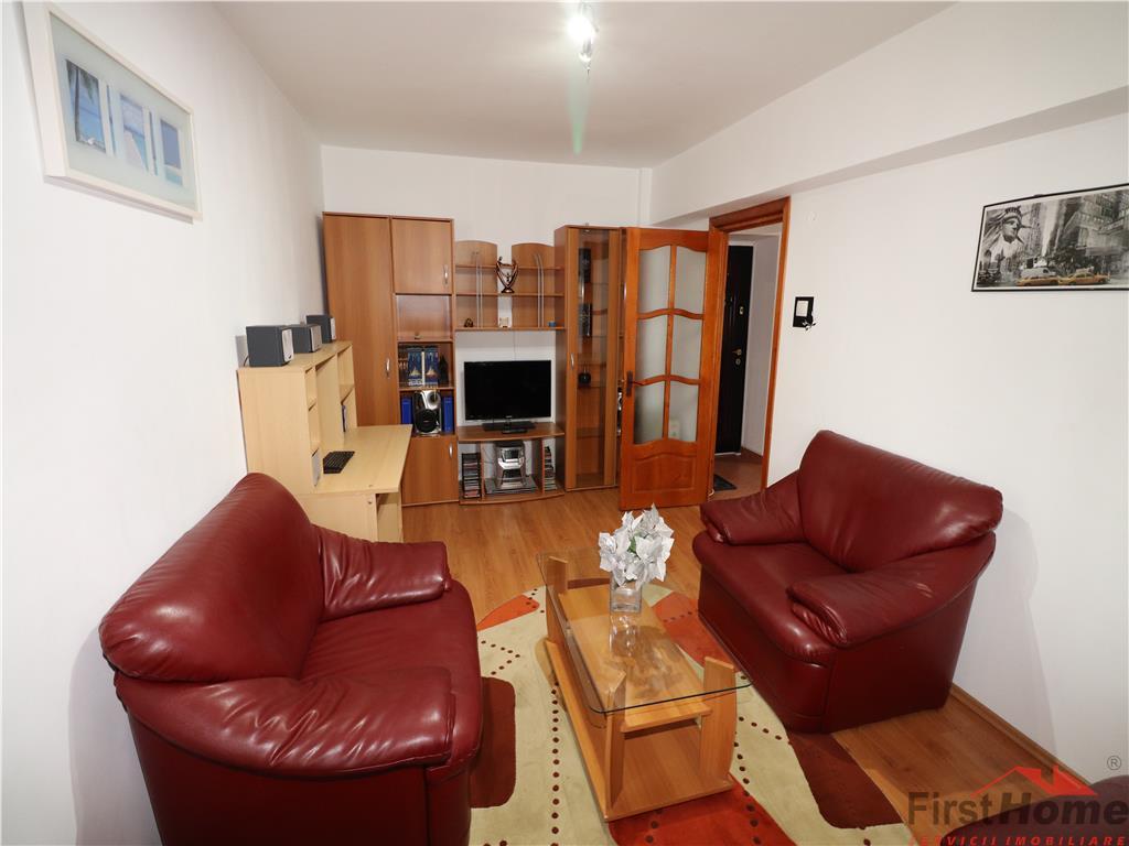Apartament 3 camere, etaj 6, mobilat si utilat