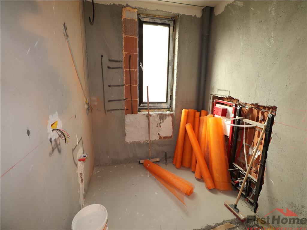 Casa P+M in Golesti in stadiu de finisaje interiore