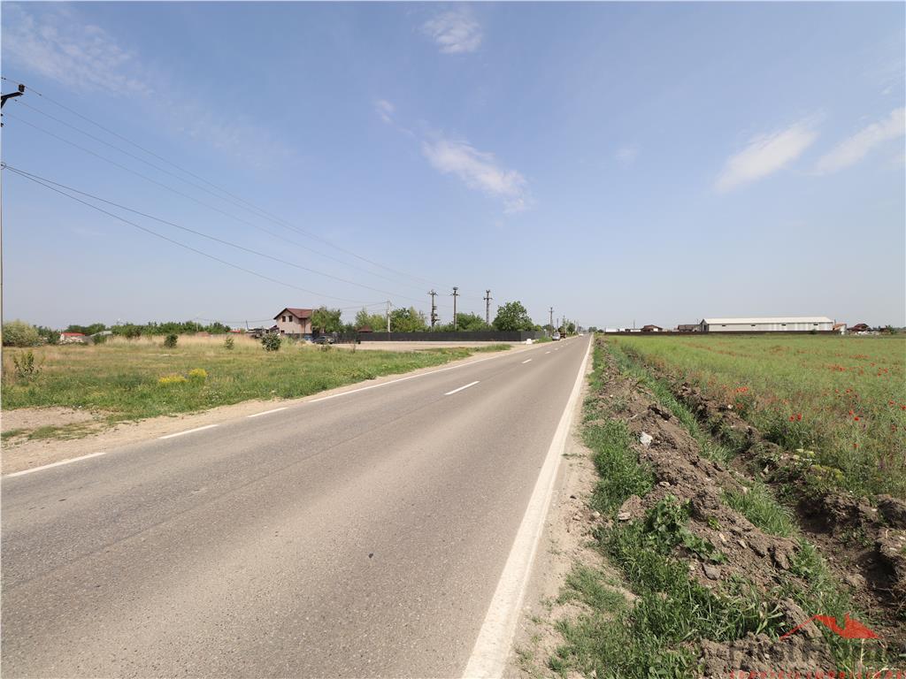 Teren de vanzare la strada principala zona Onasis  CUP