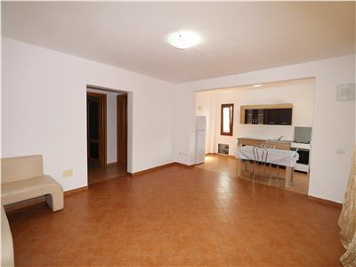 Apartament 2 camere + living cu bucatarie, mobilat si utilat