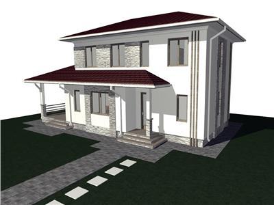 Casa P+1 de vanzare in stadiu de gri , zona Vrancei - Focsani