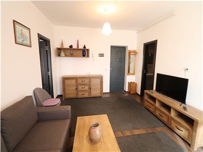 Apartament 2 camere, bloc nou, etaj 3, mobilat si utilat
